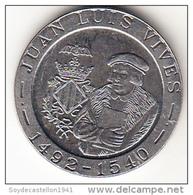 ESPAÑA 1993. 200 PESETAS LUIS VIVES   .SIN CIRCULAR.RARA . CN4295 - [ 5] 1949-… : Reino