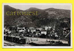 CPA 74 LE FAYET SAINT GERVAIS LES BAINS La GARE Marchandise Wagon De Train 1952 - Saint-Gervais-les-Bains