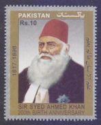 "PAKISTAN 2017 Rs10 ""200th Birth Anniversary Of Sir Syed Ahmed Khan"" MNH - Pakistan"