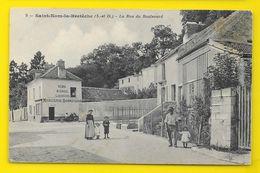 St NOM La BRETECHE La Rue Du Boulevard Commerce Bigny () Yvelines (78) - St. Nom La Breteche