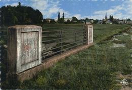 'S Gravenwezel : Grens 'S Gravenwezel - Schoten    (  Groot Formaat  14 X 10.5 Cm ) - Belgique