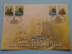 Emission Commune Avec Le MAROC / MAROKKO - 2001 ( Zie Foto's ) Gent / Maroc ! - 2001-2010