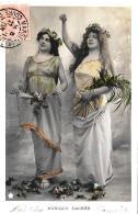 [DC11108] CPA - MUSICA SACRA - MUSIQUE SACREE - Viaggiata 1903 - Old Postcard - Musica E Musicisti