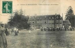 CHATEAU DES GRANGES ENVIRONS DE MONCONTOUR PROPRIETAIRE MR BELIZAL - Moncontour