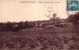 SENNECEY LE GRAND -71- L'EGLISE ST MARTIN SUR LA MONTAGNE - France