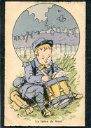 CPA - Illustration Chamouin - LA LETTRE DU FRONT - Guerre 1914-18
