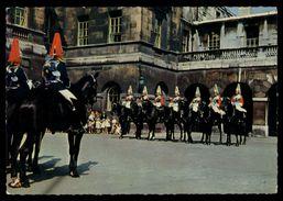 [015] Pferde-Karte 137, Horse-Guards, London, ~1980 - Pferde