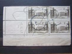 """VEND TIMBRES N° 778 EN BLOC DE 4 COIN DATE """" 9.6.47 """" !!! - 1940-1949"""