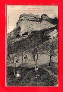 27-CPA PORT MORT - LA ROCHE ET RESTE DE L'ANCIENNE EGLISE - (N°1442) - Autres Communes