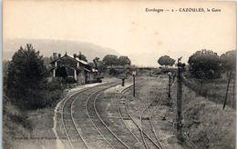 24 - CAZOULES -- La Gare - Andere Gemeenten