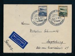 D.-Reich  -Zeppelin  Luftpost  Netter  Beleg  (t8736 ) Siehe Scan !! - Germany
