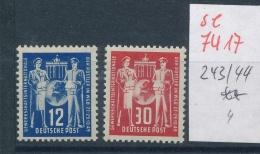 DDR Nr.  243-44   **  (se7417  ) Siehe Scan !! - DDR