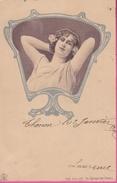 """17 / 11 / 134     JEUNE  FEMME - SÉRIE  130  """"  IM  SPIEGEL  DER  VÉNUS  """" - Frauen"""