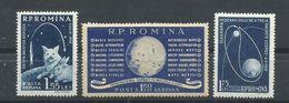 RUMANIA  YVERT  AEREO 104/06  MH  * - Aéreo