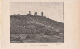 1921 - Iconographie - Eguisheim (Haut-Rhin) - Les Trois Châteaux - FRANCO DE PORT - Ohne Zuordnung