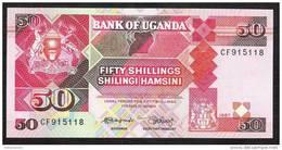 OUGANDA UGANDA  P30a   50   SHILLINGS    1987    UNC. - Uganda