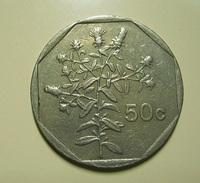 Malta 50 Cents 1992 - Malta