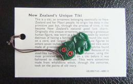 Souvenir De Nouvelle Zélande - New Zealand's Unique Tiki - Obj. 'Remember Of'