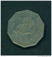 EAST CARIBBEAN STATES - 1989 $1 Circ. - East Caribbean States
