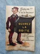CARTE À SYSTÈME - DIEPPE - BOUM V'LA LE FACTEUR.... - 76 - Dieppe