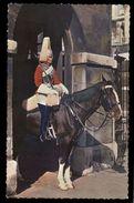 [015] Pferde-Karte 232, Horse Guard Whitehall London, ~1970 - Pferde