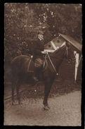 [015] Pferde-Karte 239, Pferd Mit Reiter, Private Aufnahme ~1910 - Pferde