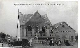 DAMGAN  COLONIE VACANCES ST MAURICE  VOITURE PERSONNAGES  DEPT 56 - Damgan
