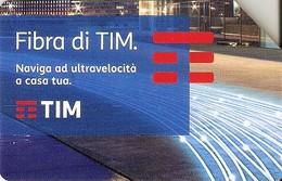 *ITALIA: FIBRA DI TIM* - Scheda Usata - Italia