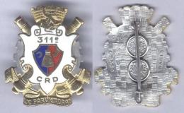 Insigne De La 311e Compagnie De Réparation Divisionnaire - Armée De Terre