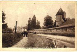 CPA N°13305 - CHATILLON EN BAZOIS - LA VIEILLE TOUR LE CANAL - Chatillon En Bazois