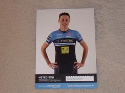 Oscar Riesebeek - Metec TKH Continental Cyclingteam P/b Mantel - 2016 - Cycling