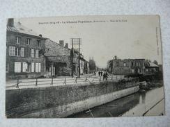 CPA4 - Carte Postale Ancienne Guerre 14-18 Le Chesne Populeux Rue De La Gare - Le Chesne