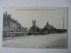 CPA4 - Carte Postale Ancienne Guerre 14-18 Le Chesne Populeux Le Canal Et La Place - Le Chesne