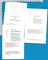 Bp    Booischot    Goelen    3    Stuks - Images Religieuses