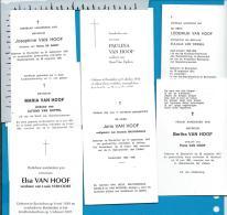 Bp    Booischot    Van Hoof    7    Stuks - Images Religieuses