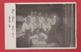 Lehe -- Carte Photo  --  Marins Allemands  --16/4/1914 - Bremerhaven