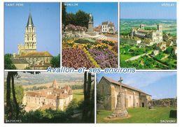 Avallon Et Ses Environs (89) Saint Pere - Avallon - Vezelay - Bazoches - Sauvigny - Avallon