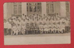 Magdeburg -- Carte Photo  --  Soldats Allemands  --6/7/1915  --abimée - Magdeburg