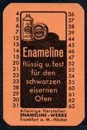 A8529 - Enameline Putzmittel Werke Frankfurt A. M. TOP - Reklame
