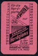 A8531 - Herdglanz Enameline Werke Frankfurt A. M. Putzmittel - Reklame