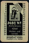 A8532 - Motki Enameline Werke Frankfurt A. M. Insektenmittel - Reklame