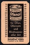 A8533 - Ofenol - Enameline Werke Frankfurt A. M. Putzmittel - Reklame