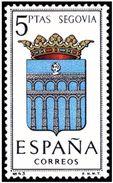ESPAÑA 1965 - ESCUDOS DE PROVINCIAS - SEGOVIA - EDIFIL Nº 1637**  YVERT Nº 1326** - 1931-Aujourd'hui: II. République - ....Juan Carlos I