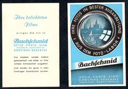 A8534 - Bachschmid - Foto Labor - Konstanz - Werbung Reklame TOP - Reklame
