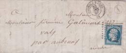 Lettre De Bagnols Sur Ceze 23/12/1859 - 1849-1876: Classic Period
