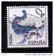 ESQUI PRUEBA PROOF VALOR CERO PTS DEPORTE INVIERNO MONTAÑA HIELO SKI - Skiing