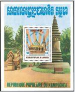 "Kampuchéa Bloc YT 34 "" Libération Nationale "" 1983 Neuf** - Kampuchea"