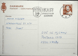 Denmark Postkort EB 140  Nr.219  ( Lot 1725 ) - Entiers Postaux