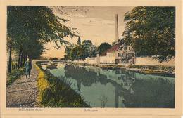 MÜLHEIM-RUHR - SCHLEUSE  (C P DE CARNET DEPLIANT) - Muelheim A. D. Ruhr