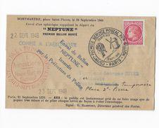 Ballon Monté Pli Confié à L'aéronaute - 1921-1960: Modern Period